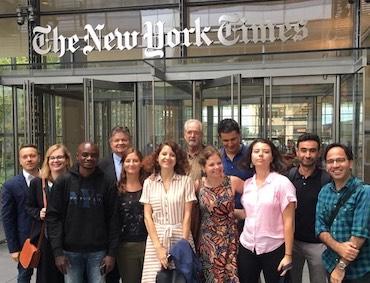 За видеата във вестниците и други уроци от американските нюзруми