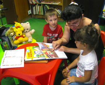 Story Hour Regulars Do Better in Life