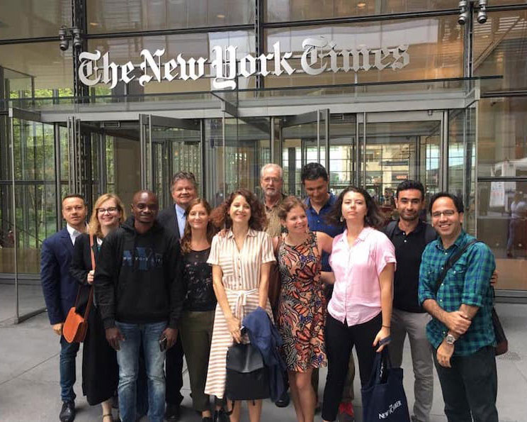 Attention, Bulgarian Journalists: Apply for a Media Fellowship in the US